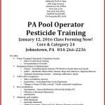 PA Pest Class Flyer Jan 2016