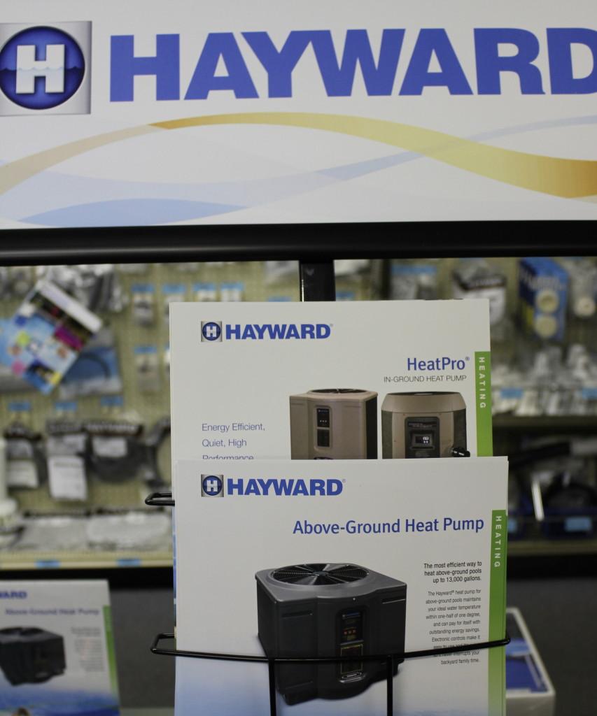 Hayward Heater Display