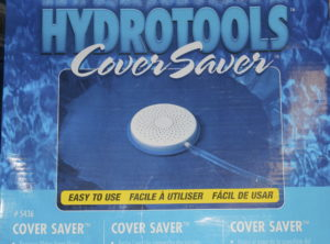 Keep water off your winter cover