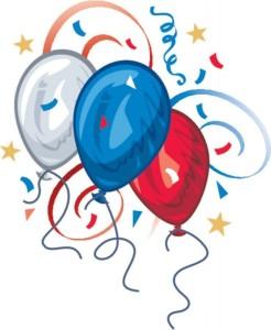RW&B Balloons